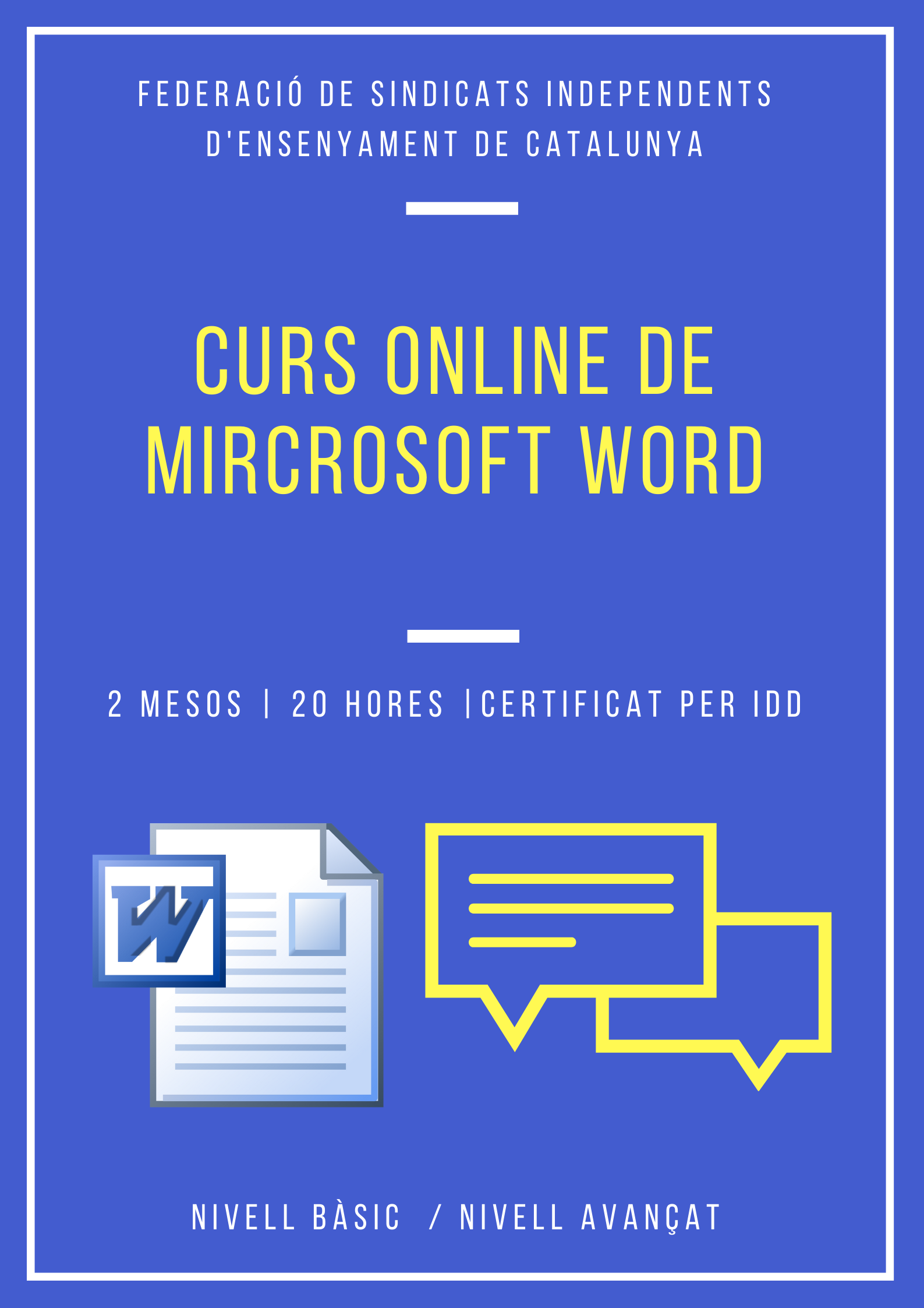 cartell curs word